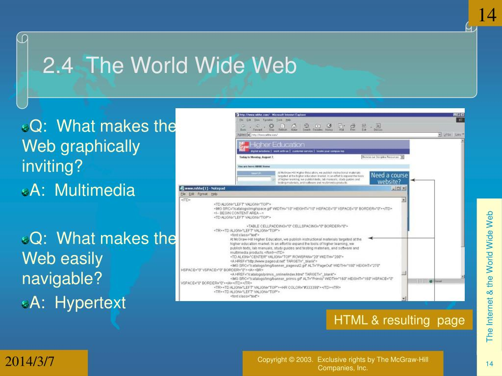 2.4  The World Wide Web