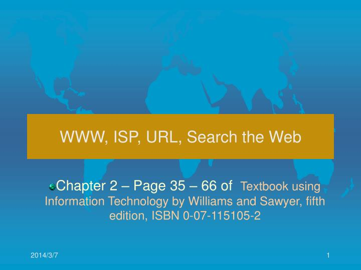 Www isp url search the web
