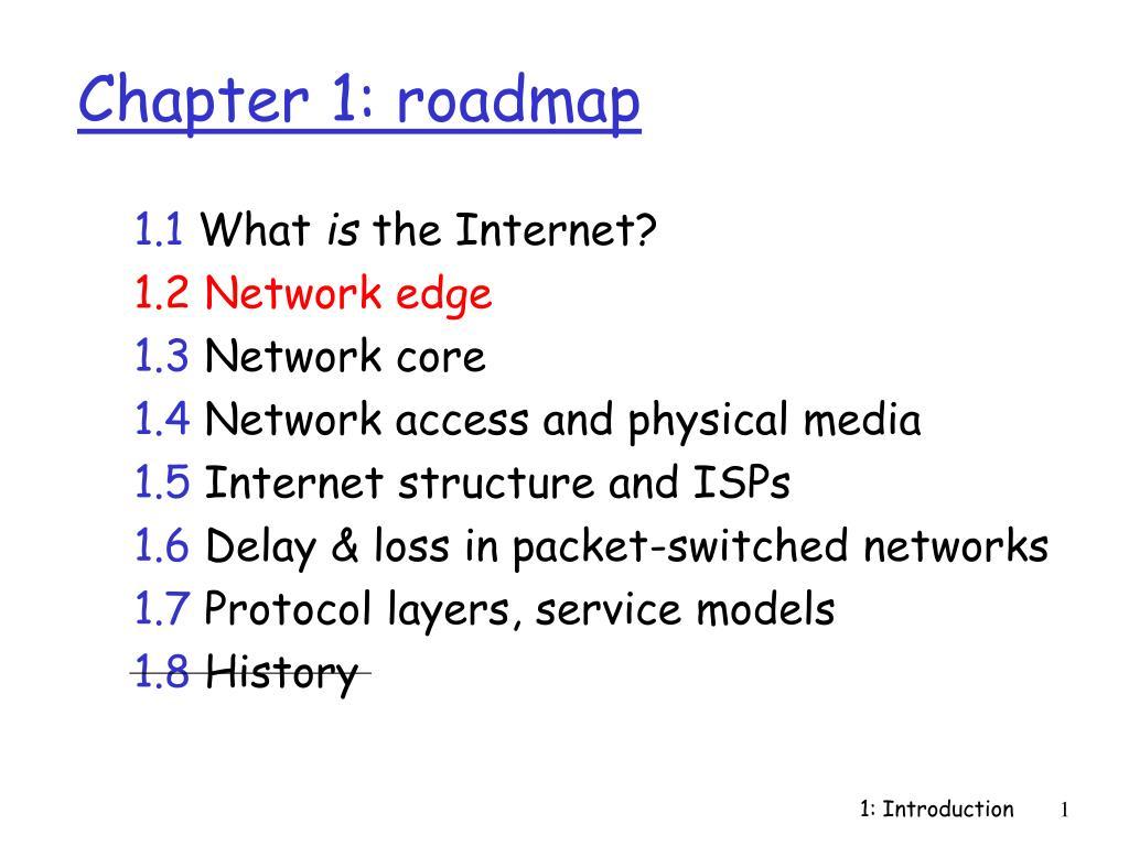 chapter 1 roadmap l.