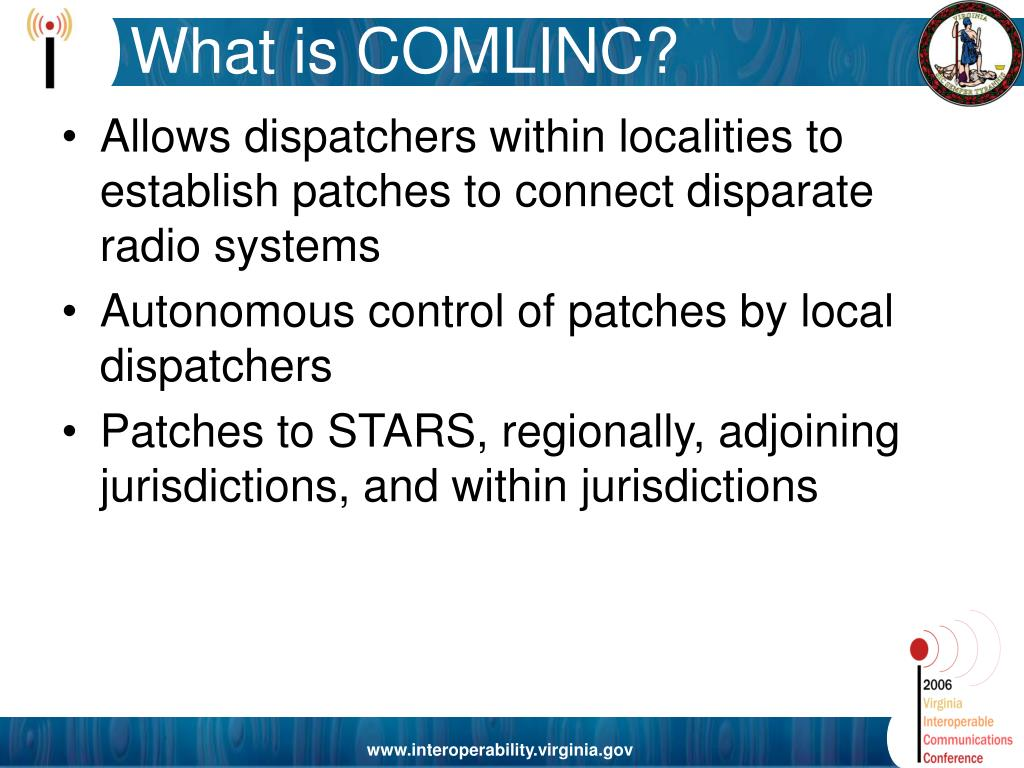 What is COMLINC?