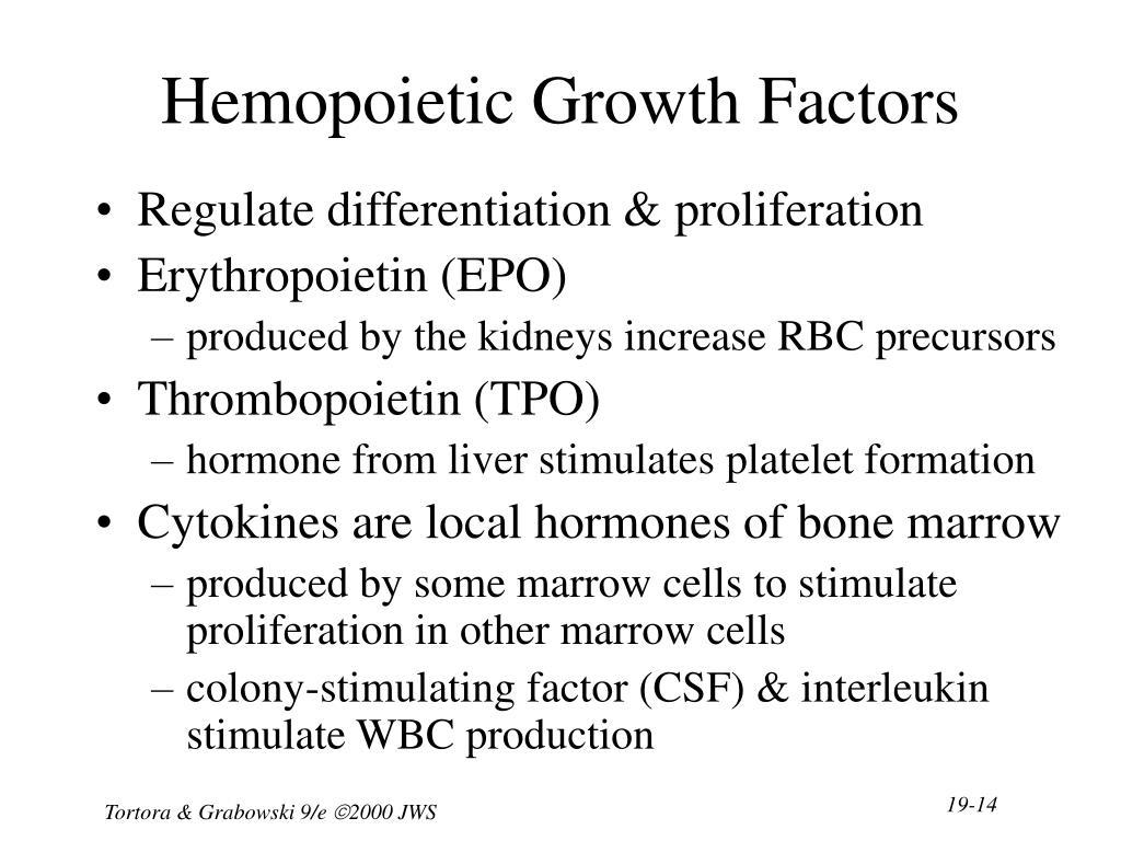 Hemopoietic Growth Factors