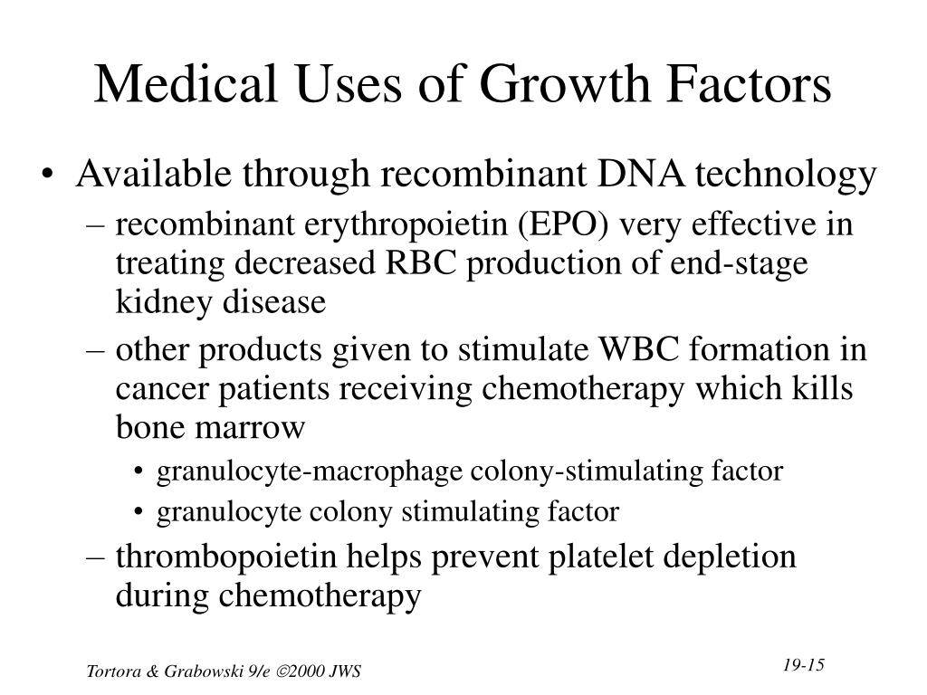 Medical Uses of Growth Factors