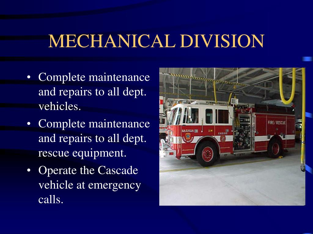 MECHANICAL DIVISION