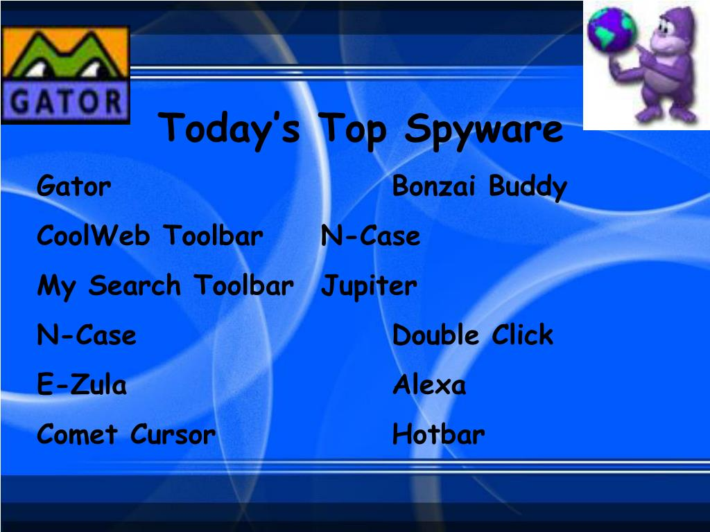 Today's Top Spyware