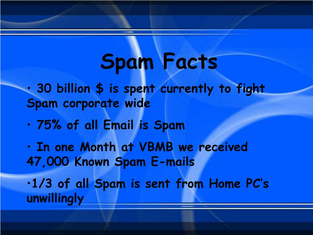 Spam Facts