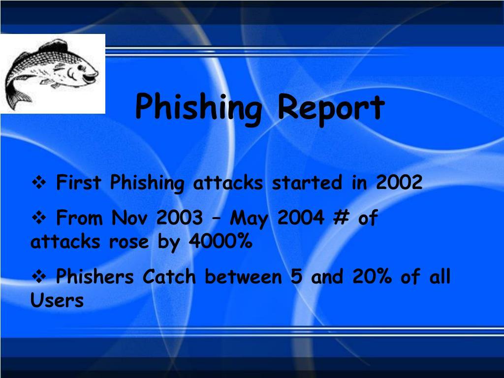 Phishing Report