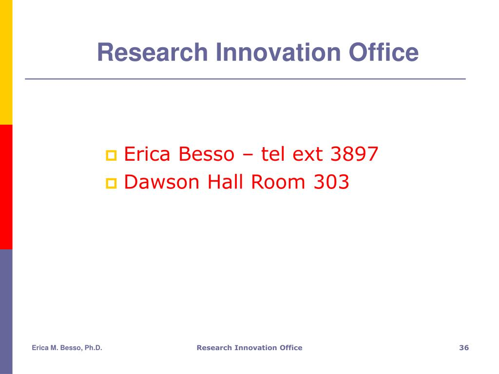 Research Innovation Office