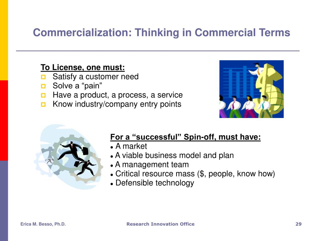 Commercialization: Thinking in Commercial Terms