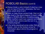 robolab basics cont d26