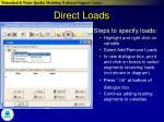 direct loads