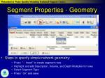 segment properties geometry