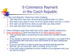 e commerce payment in the czech republic24