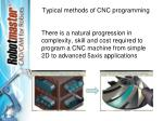 typical methods of cnc programming5