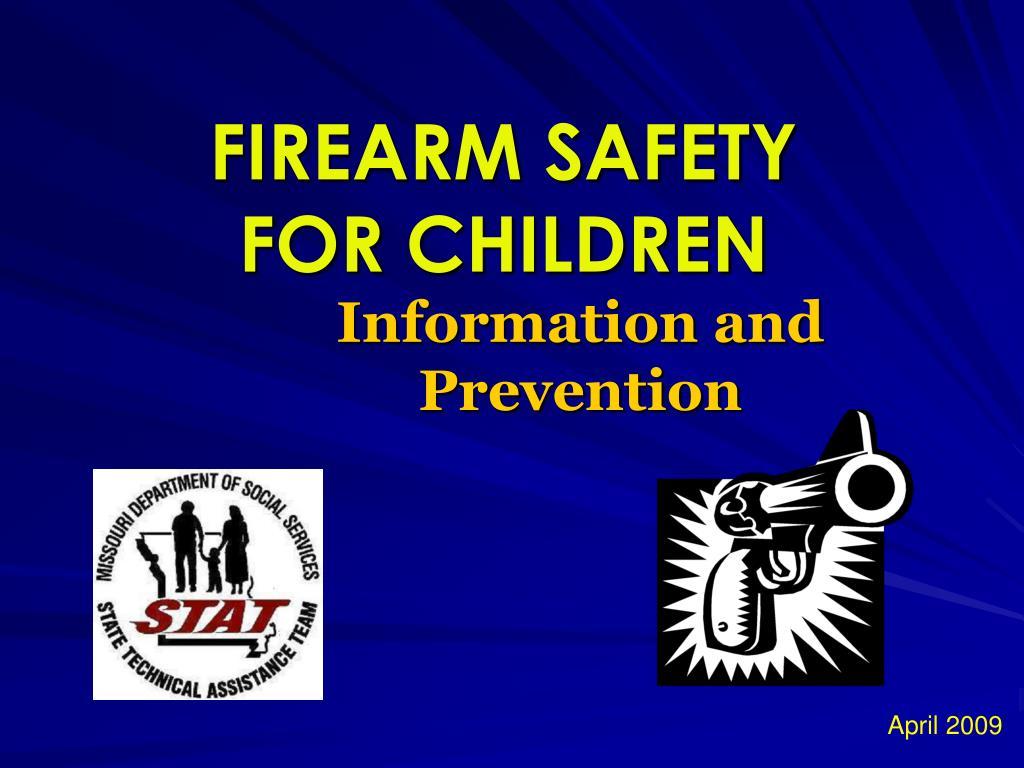 firearm safety for children l.