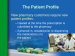 the patient profile36