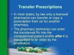 transfer prescriptions