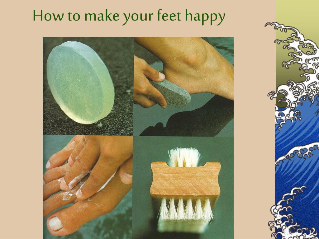 How to make your feet happy