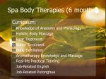 spa body therapies 6 months8