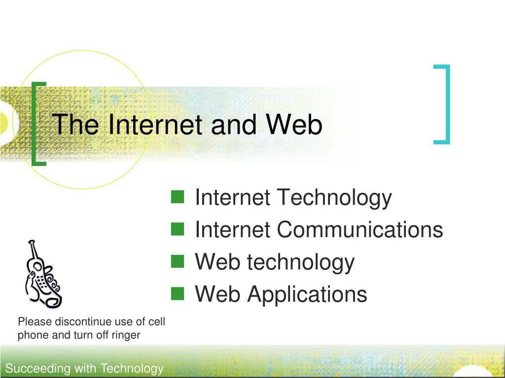 the internet and web l.