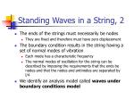 standing waves in a string 2