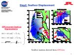 step2 seafloor displacement