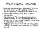 phono graphix research53