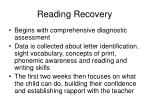 reading recovery67