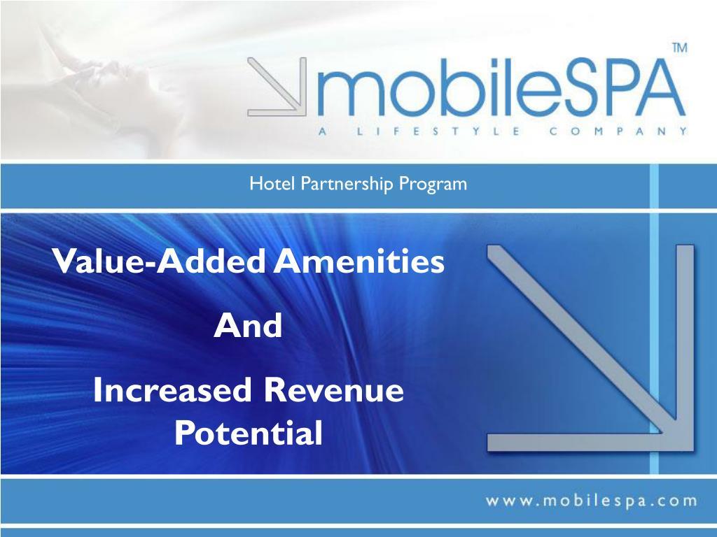Hotel Partnership Program