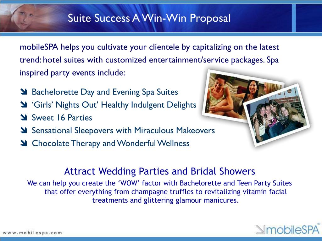 Suite Success A Win-Win Proposal