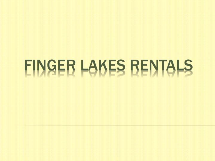 finger lakes rentals n.