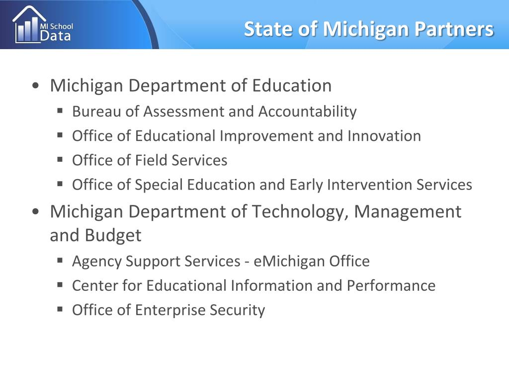 State of Michigan Partners