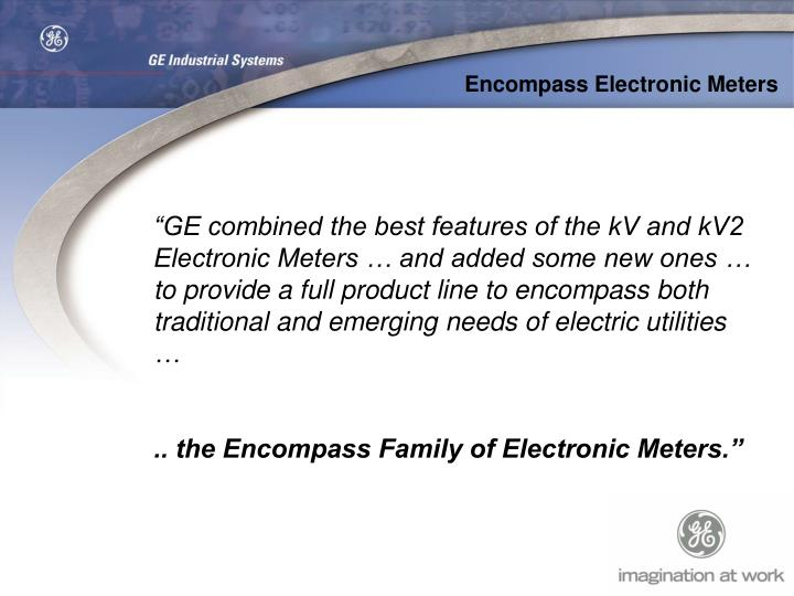 Encompass Electronic Meters