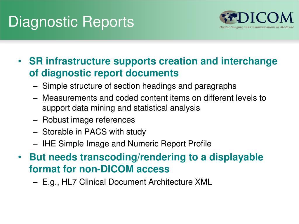 Diagnostic Reports