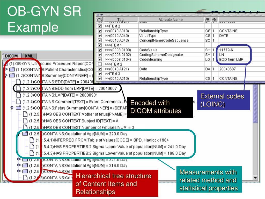 External codes (LOINC)