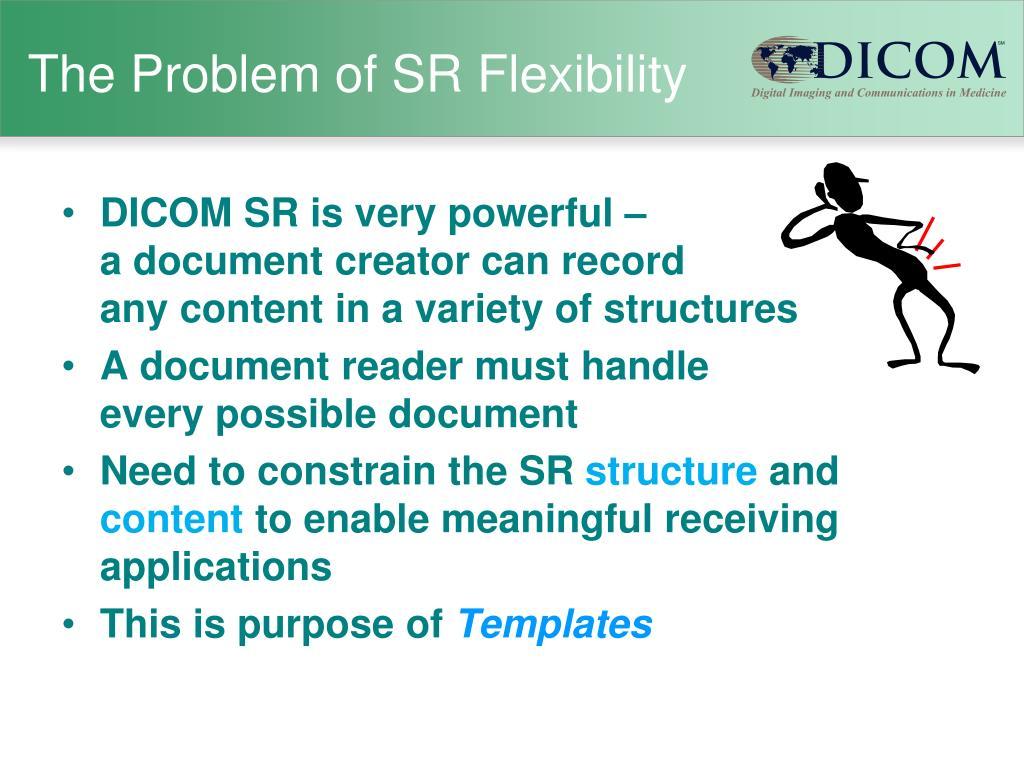 The Problem of SR Flexibility