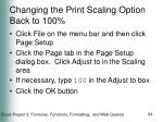 changing the print scaling option back to 100