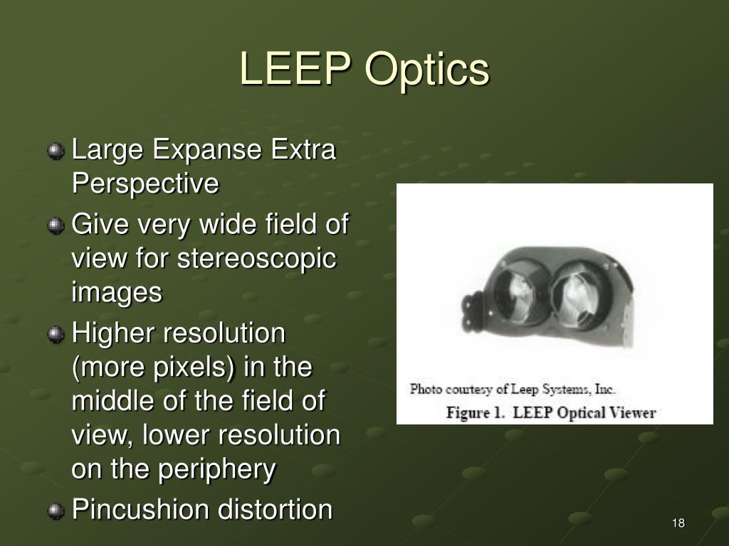 LEEP Optics