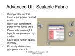 advanced ui scalable fabric
