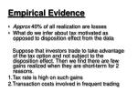 empirical evidence16