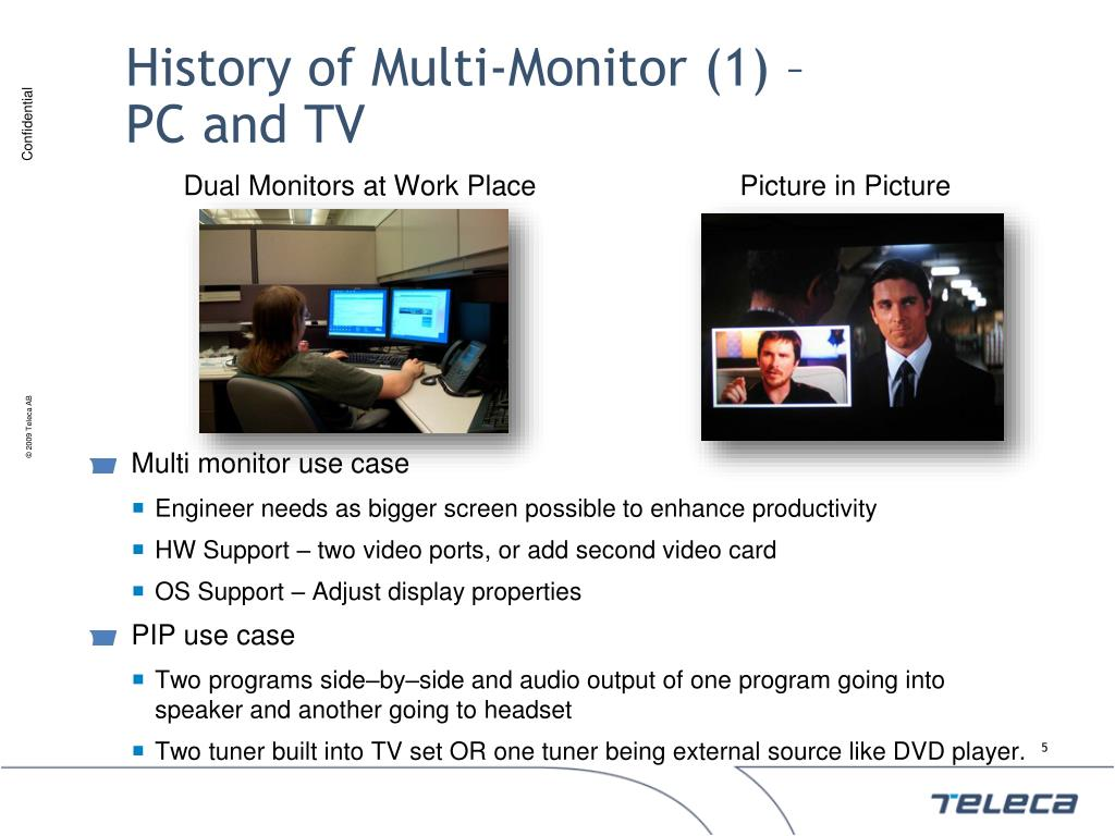 History of Multi-Monitor (1) –