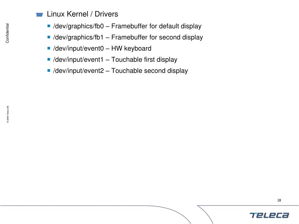 Linux Kernel / Drivers