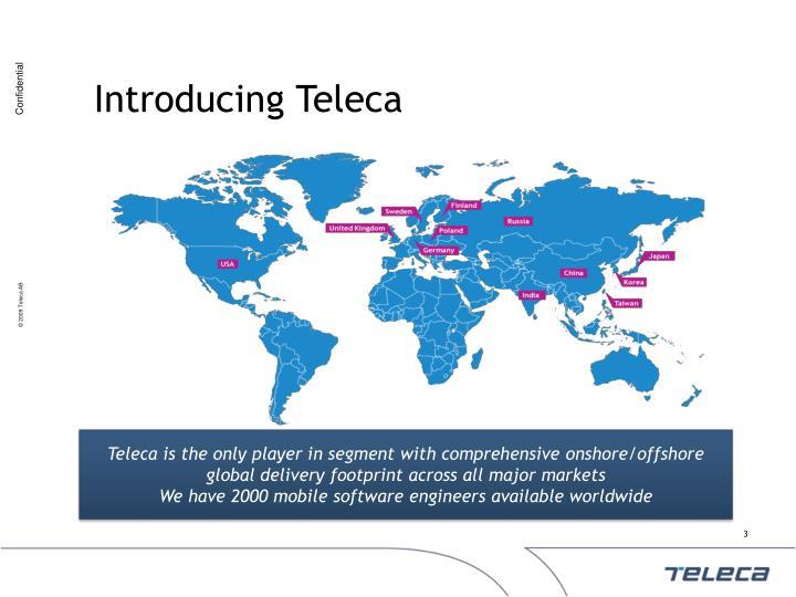 Introducing Teleca