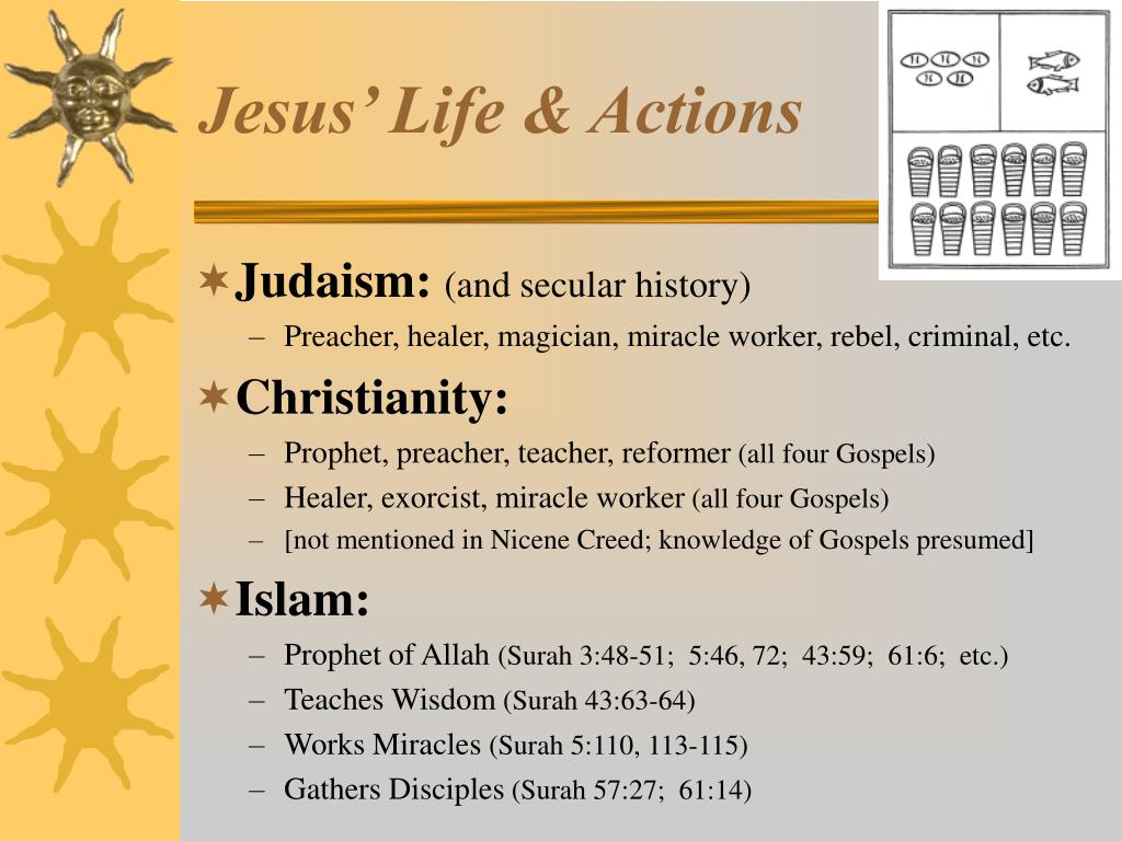 Jesus' Life & Actions