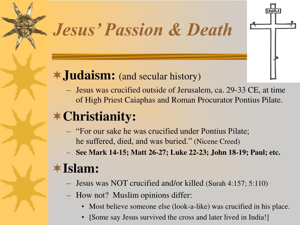 Jesus' Passion & Death