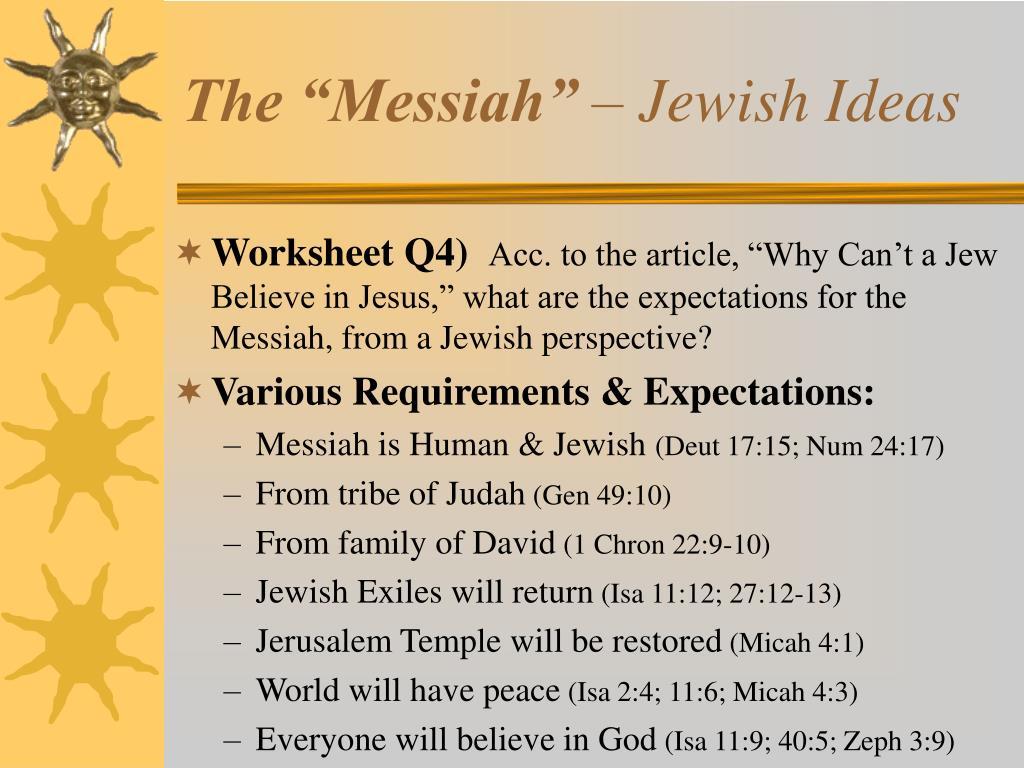 """The """"Messiah"""""""