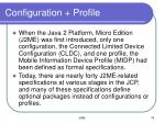 configuration profile