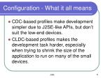 configuration what it all means
