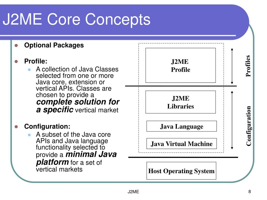 PPT - Java Platform, Micro Edition (J2ME) PowerPoint Presentation