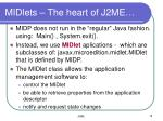 midlets the heart of j2me