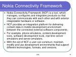 nokia connectivity framework